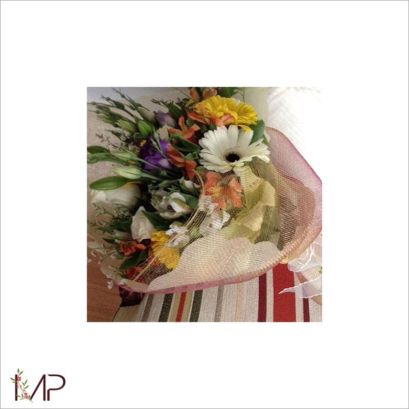 Bouquet con surtido floral