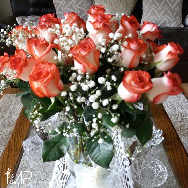 "Arreglo de Rosas Blush ""Nobleza"""