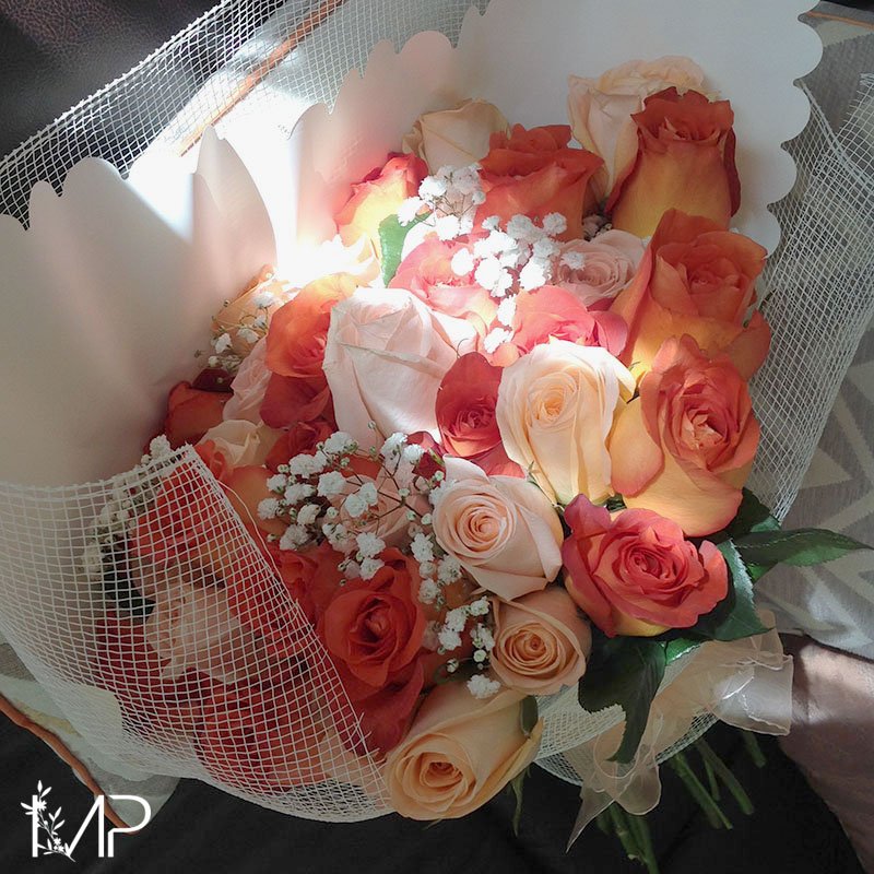 "Bouquet ""Sinfonía Naranja"""